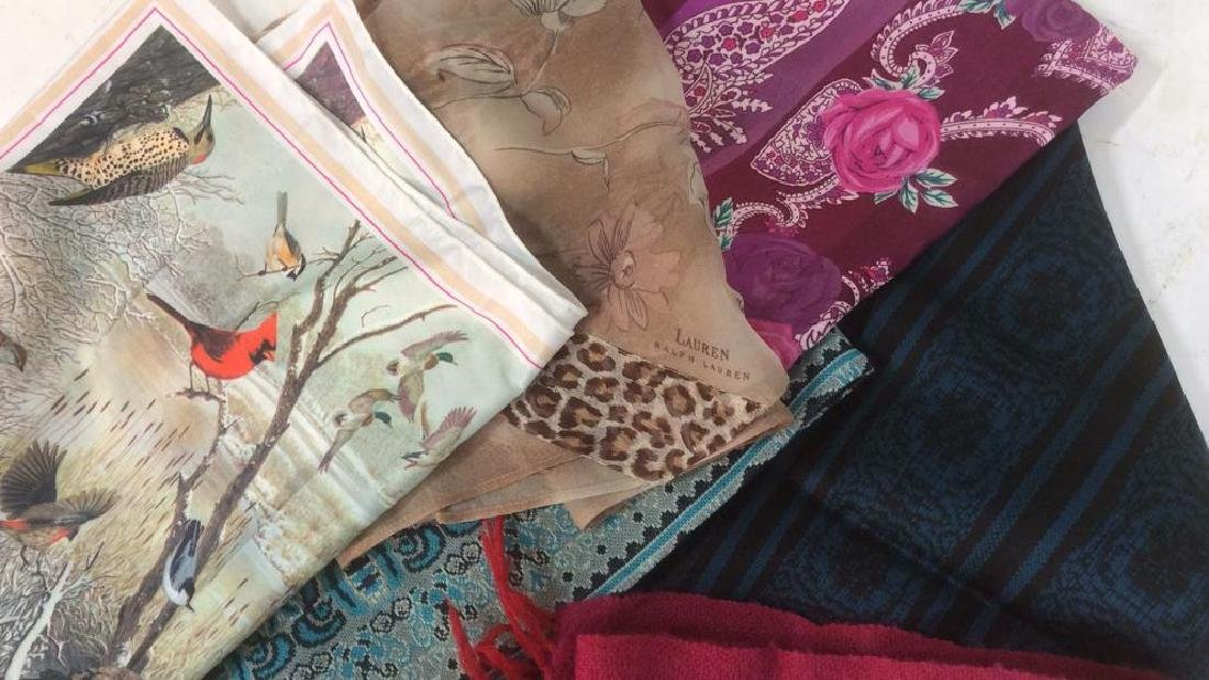 Group Lot Women's Scarves Assorted - 2