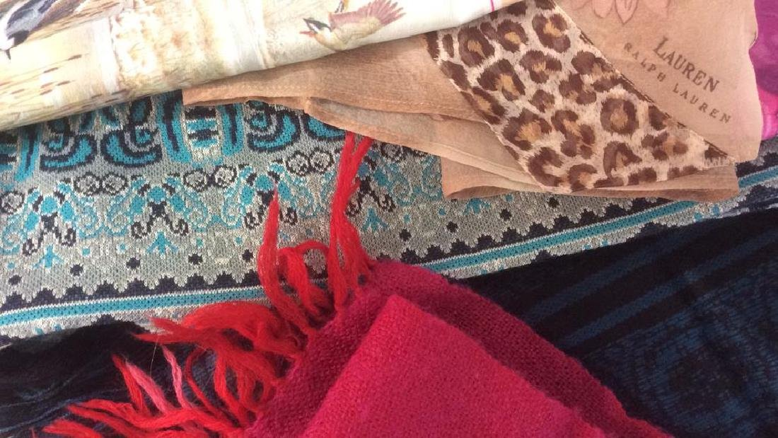Group Lot Women's Scarves Assorted - 4
