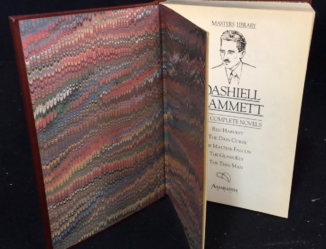 Two Vintage Hardcover Leather Bound  Books - 6