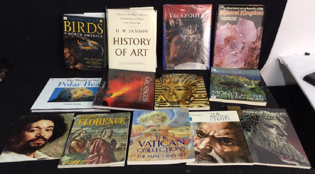 Assorted Coffee Table Books