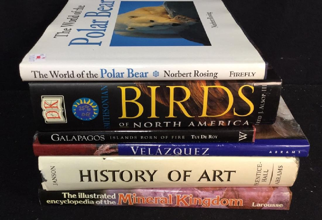 Assorted Coffee Table Books - 8