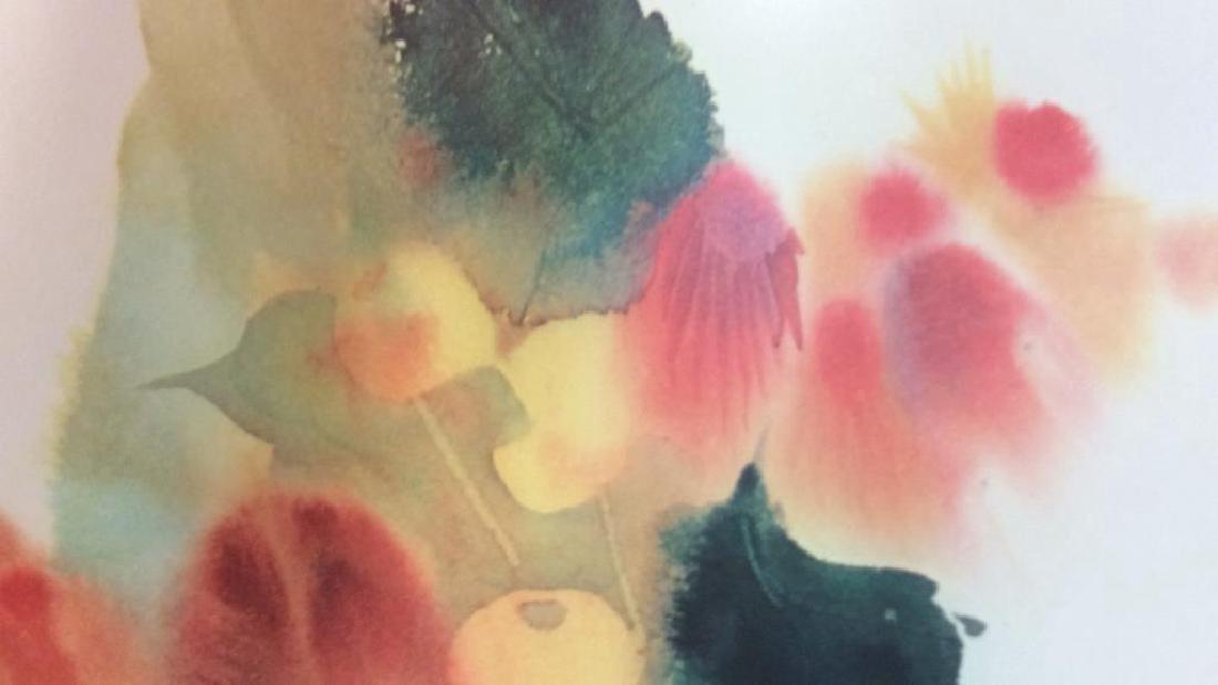 Nechis watercolors, pair signed artworks - 10