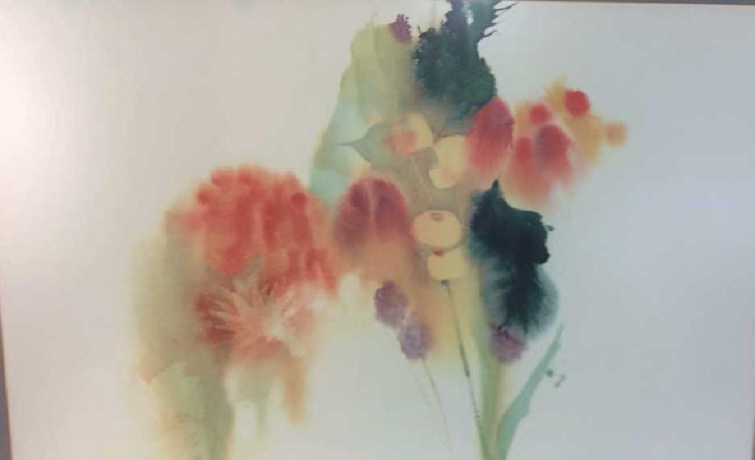 Nechis watercolors, pair signed artworks - 8