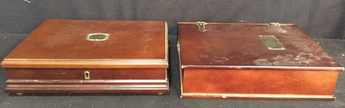 Two  Bombay &Co. Desktop Keepsake Boxes - 2