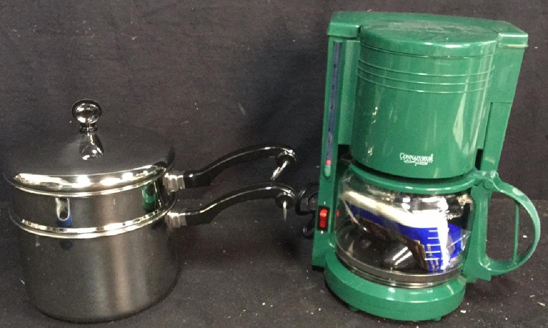 Gevalia Coffee Maker And Farberware Double Boiler