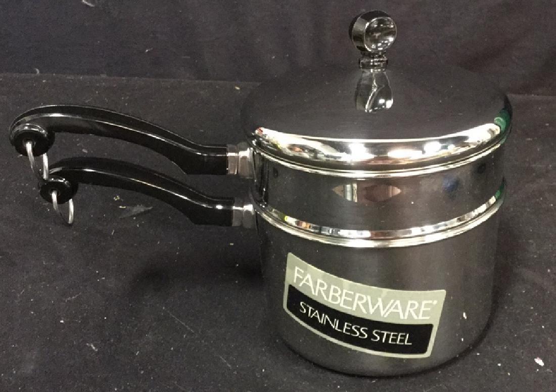 Gevalia Coffee Maker And Farberware Double Boiler - 5