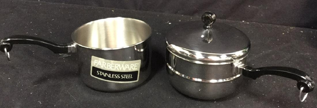 Gevalia Coffee Maker And Farberware Double Boiler - 6