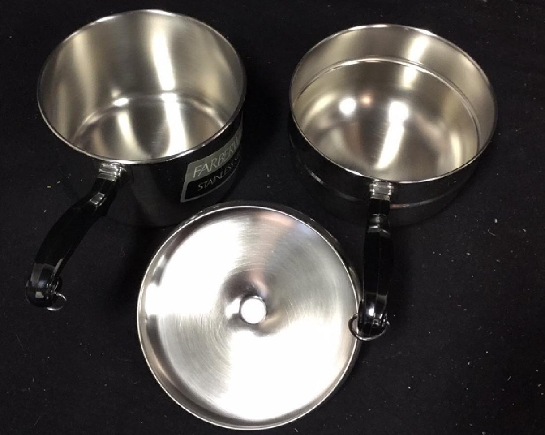 Gevalia Coffee Maker And Farberware Double Boiler - 8