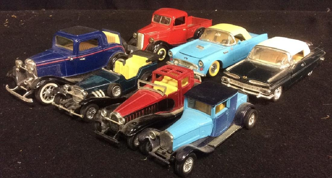 Group Lot  of Miniature Classic Cars