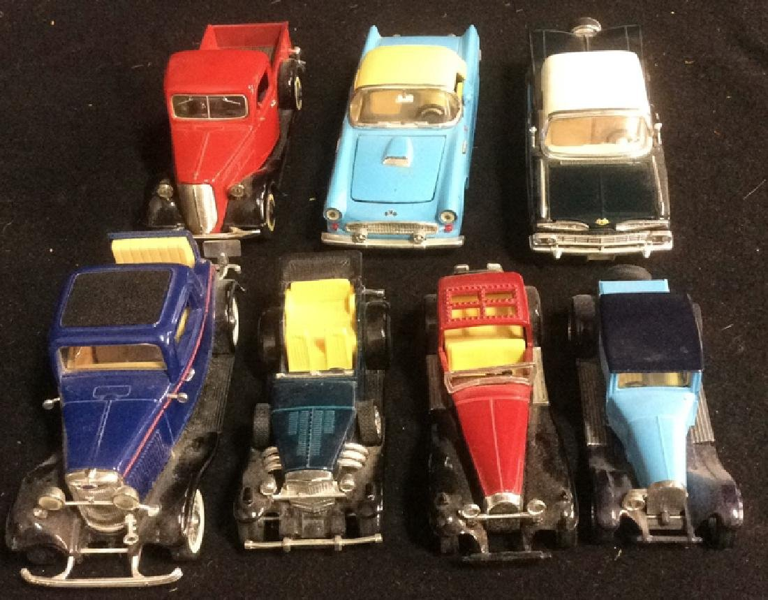 Group Lot  of Miniature Classic Cars - 2