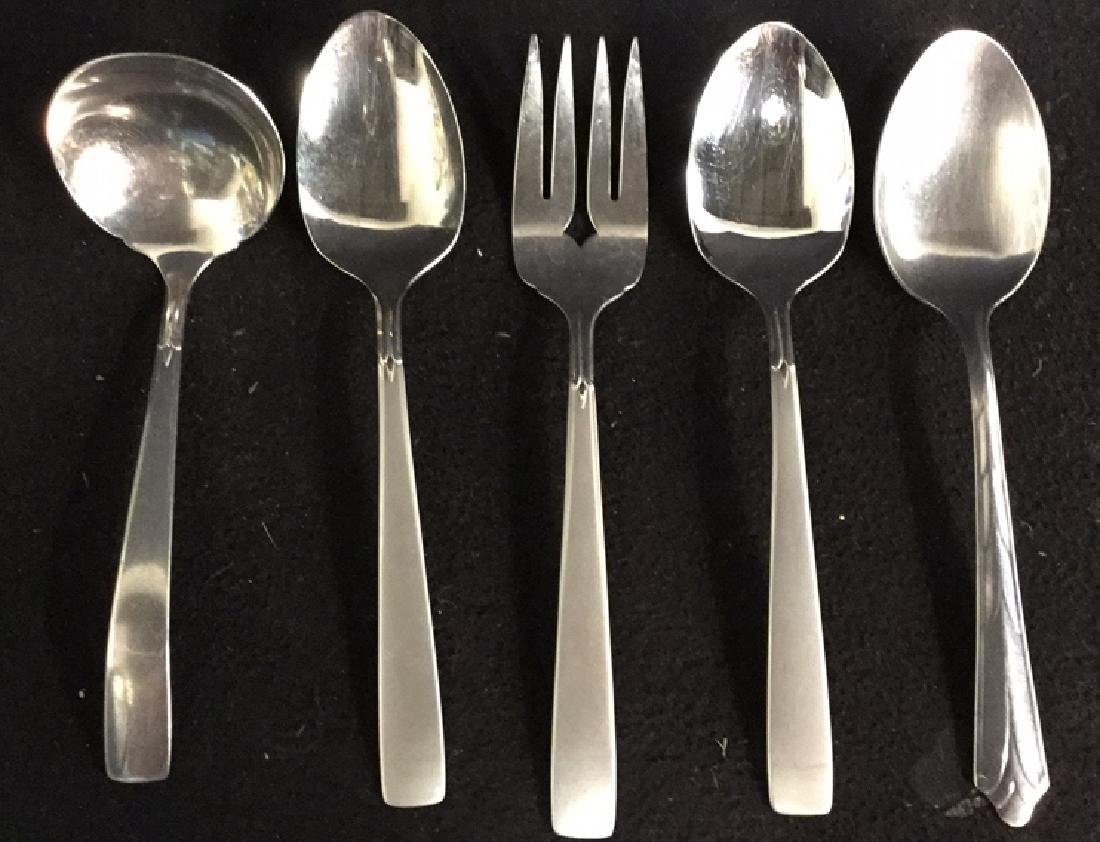 Group Lot  90 Assorted Stainless Steel Flatware
