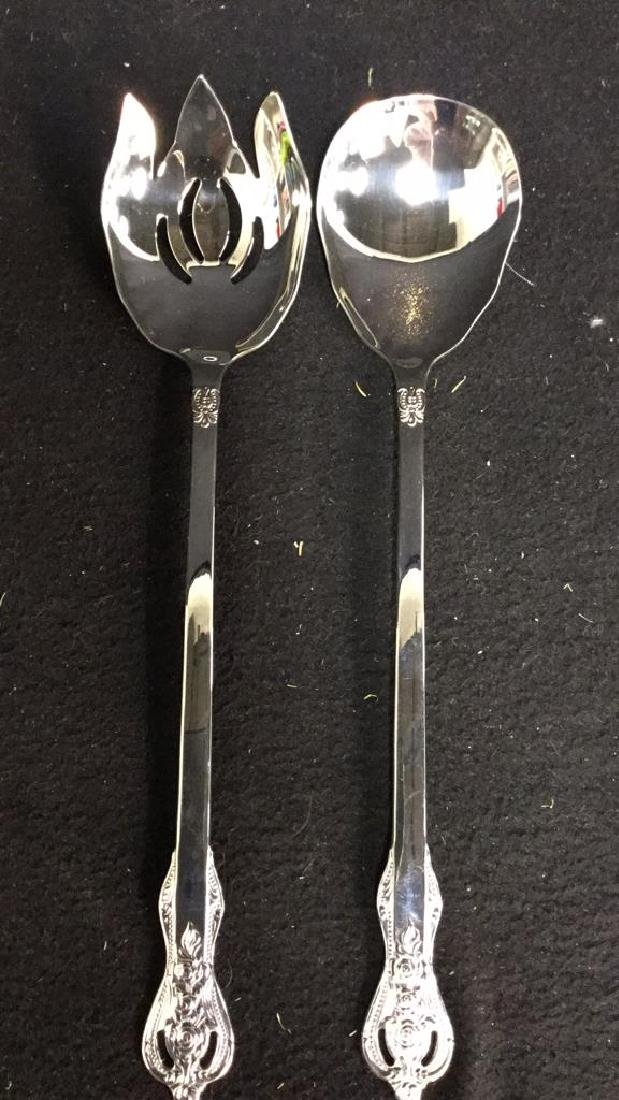 Group Lot  90 Assorted Stainless Steel Flatware - 8