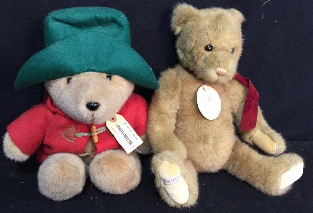B. Altman and Paddington Teddy Bears