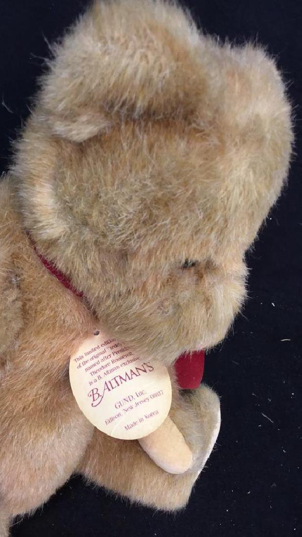 B. Altman and Paddington Teddy Bears - 9