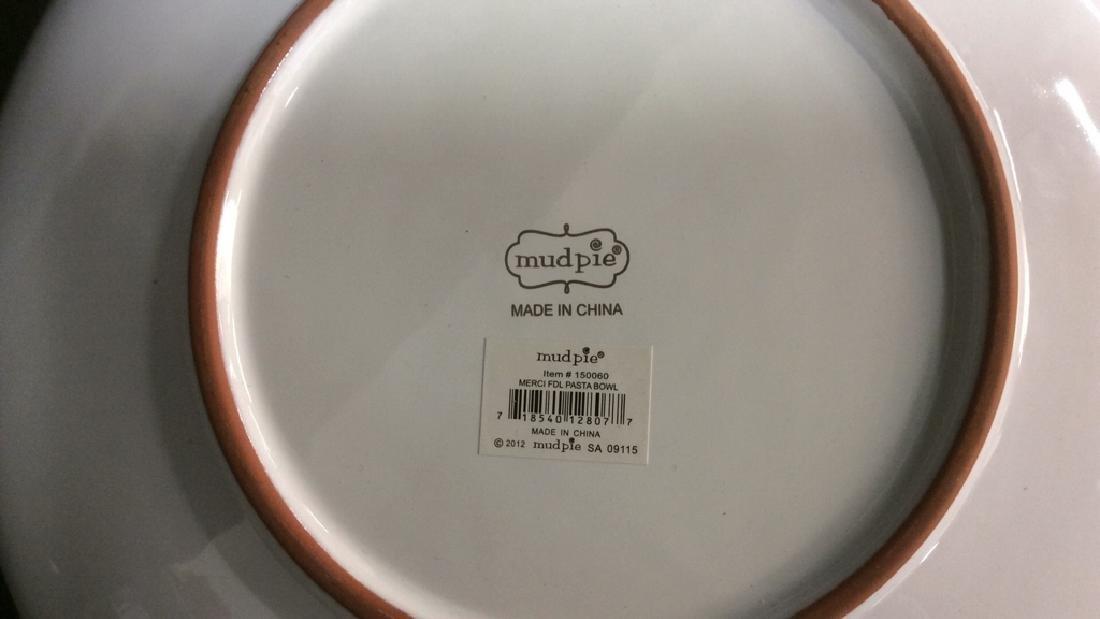 Damask Ceramic Pottery Wall Decor Plate Bowl - 4