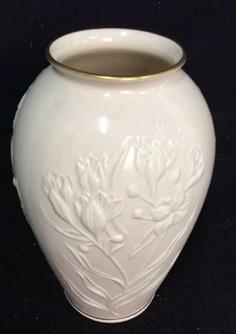 Lenox And Belleek Porcelain Vases - 2