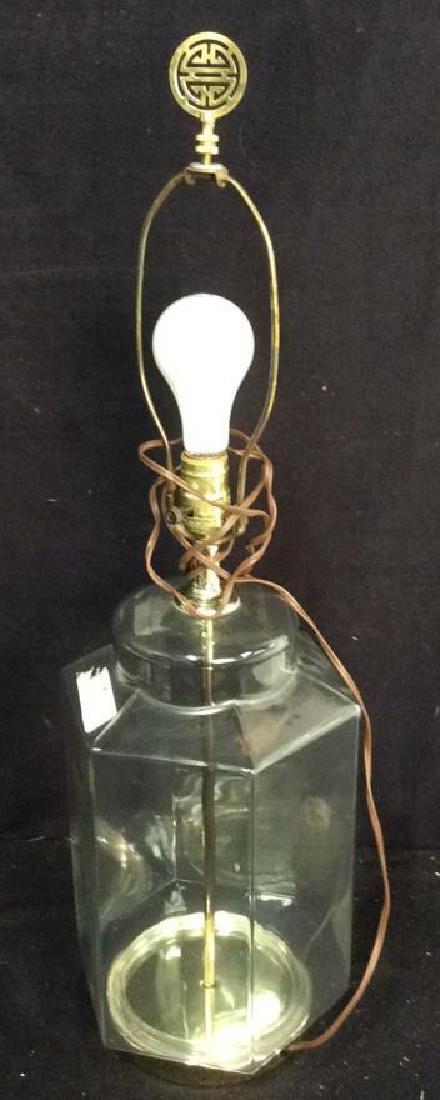 Glass Hexagod Lamp