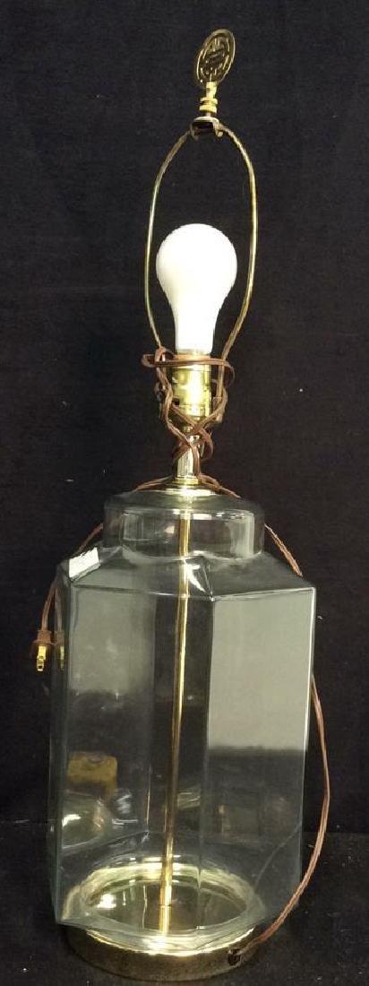 Glass Hexagod Lamp - 2