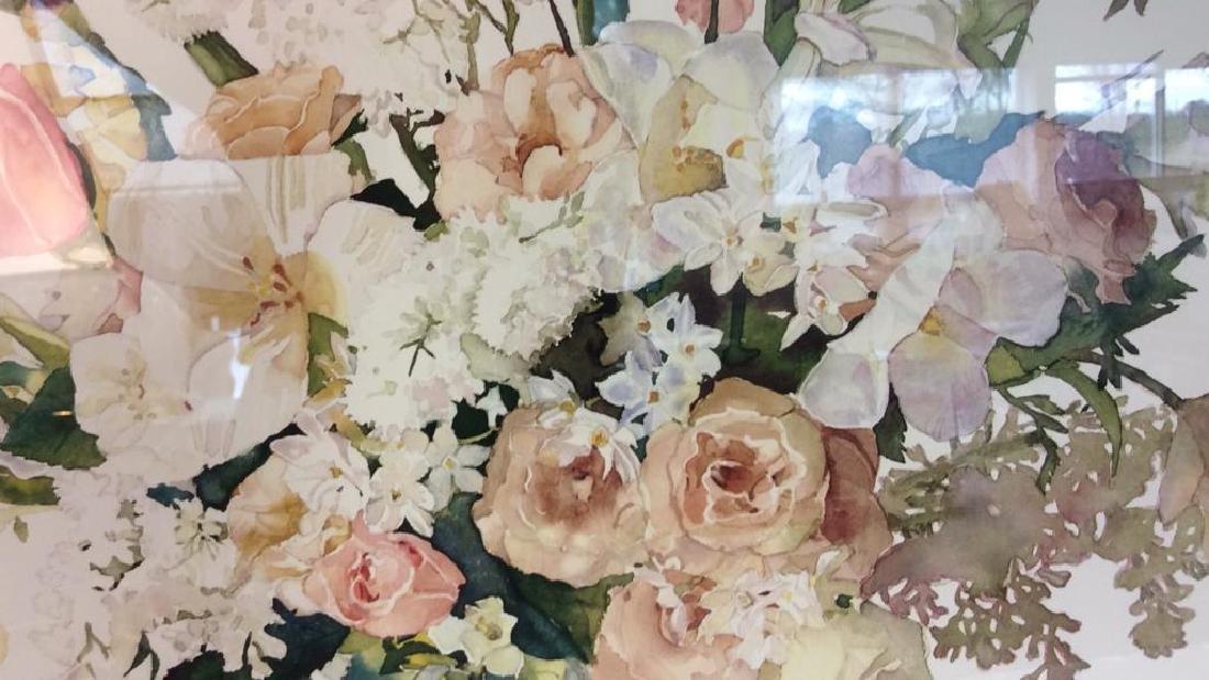 Signed Framed Floral Still Life