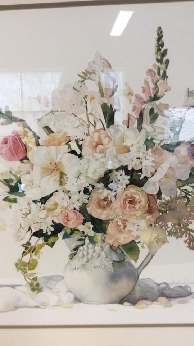 Signed Framed Floral Still Life - 4