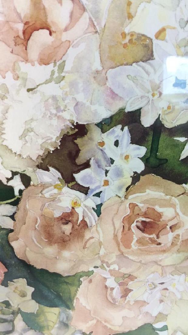 Signed Framed Floral Still Life - 6