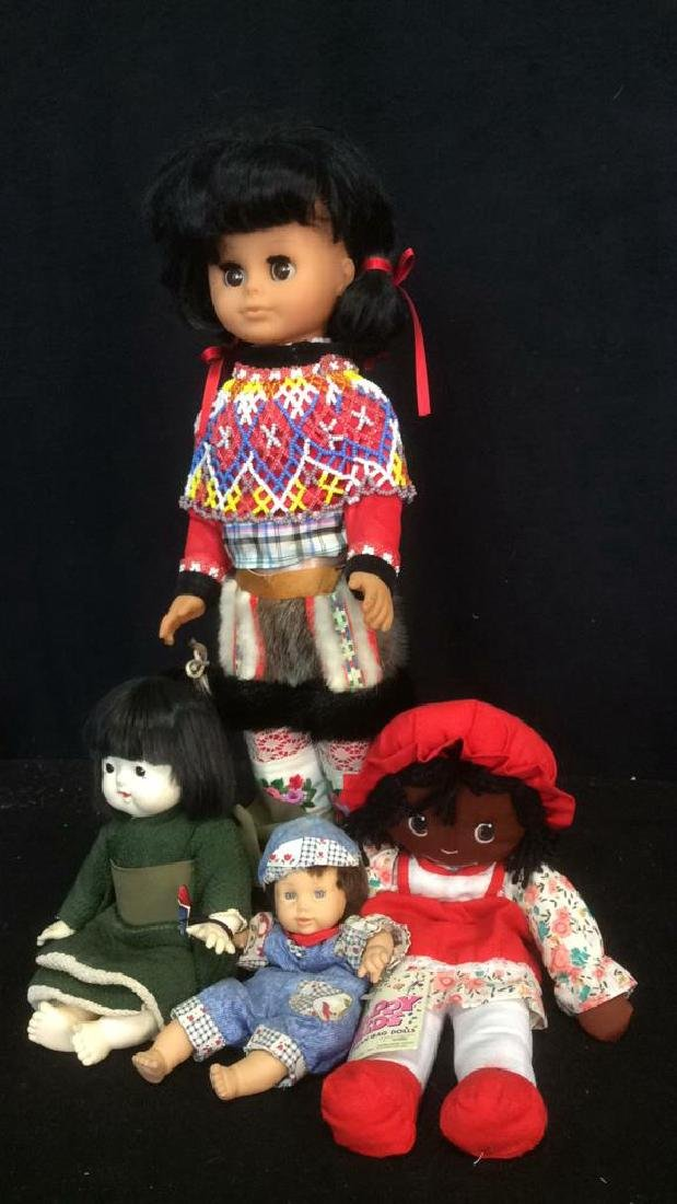 Group Lot of 4 Collectible Dolls - 2