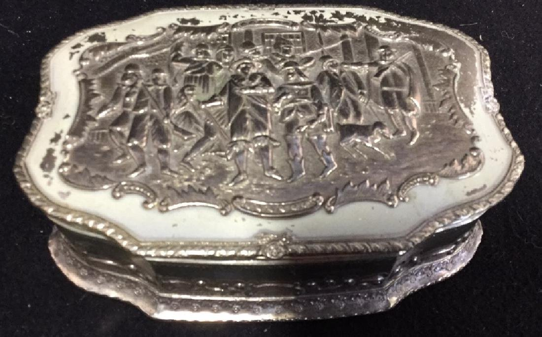 2 Silverplate Keepsake Boxes - 2