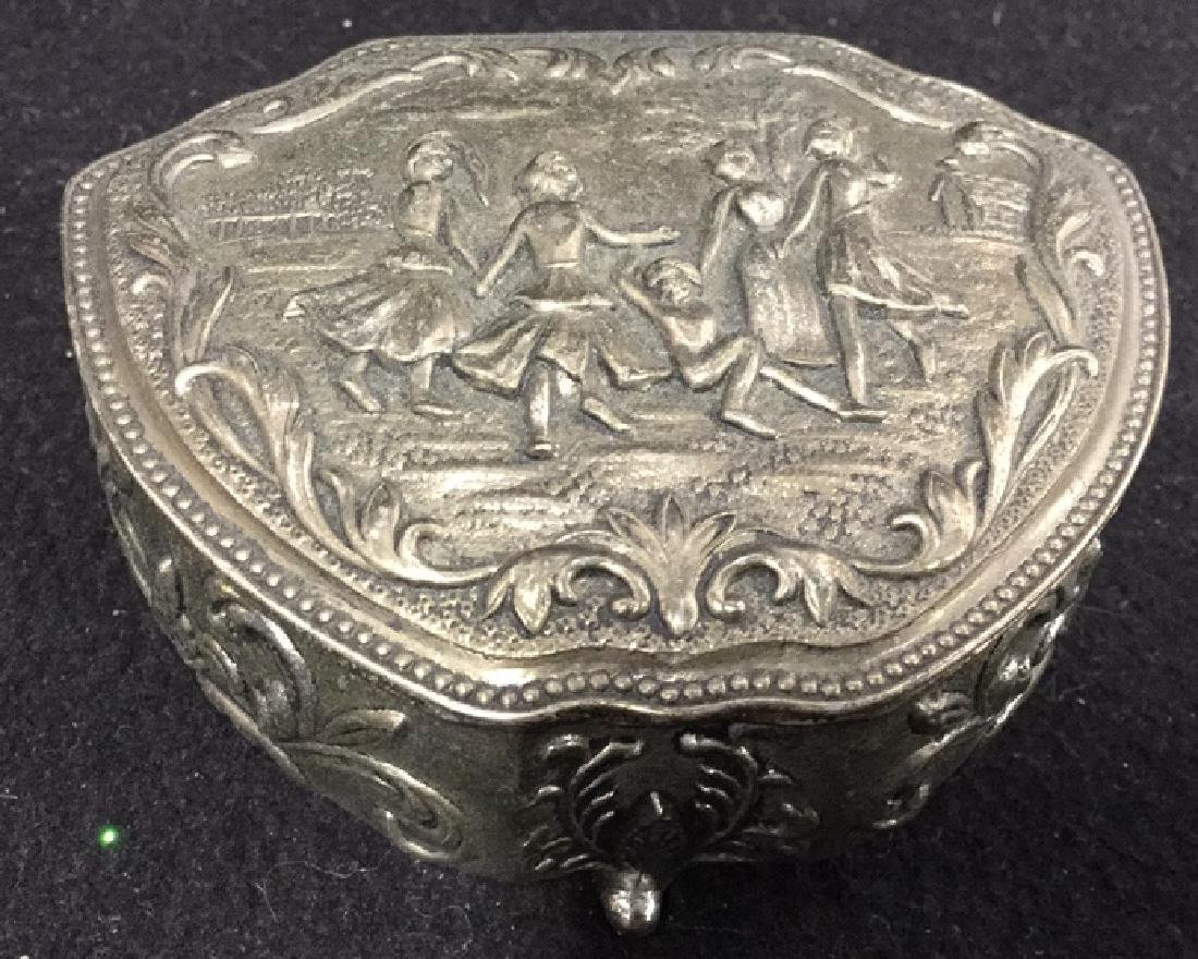 2 Silverplate Keepsake Boxes - 6