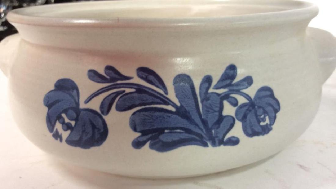 4 Stoneware Tabletop Items