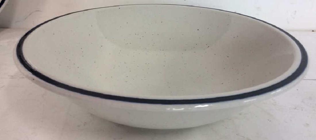4 Stoneware Tabletop Items - 6