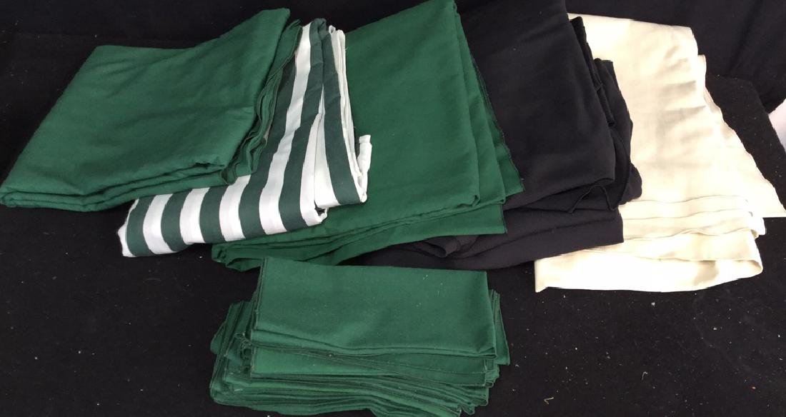 Group Lot Of Tablecloths And Napkins - 3