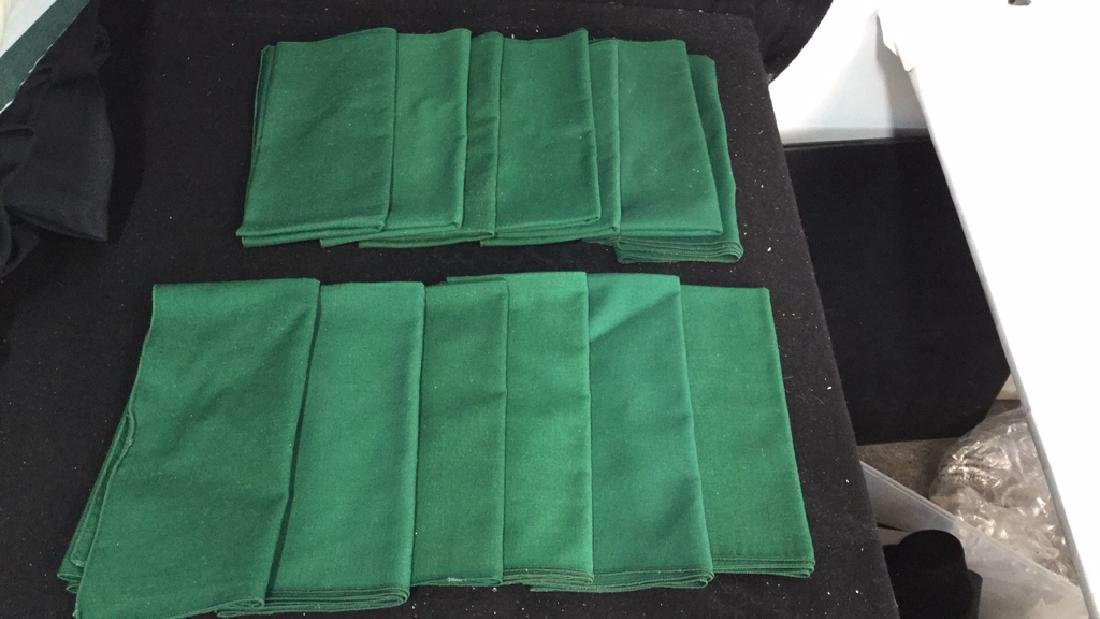 Group Lot Of Tablecloths And Napkins - 6