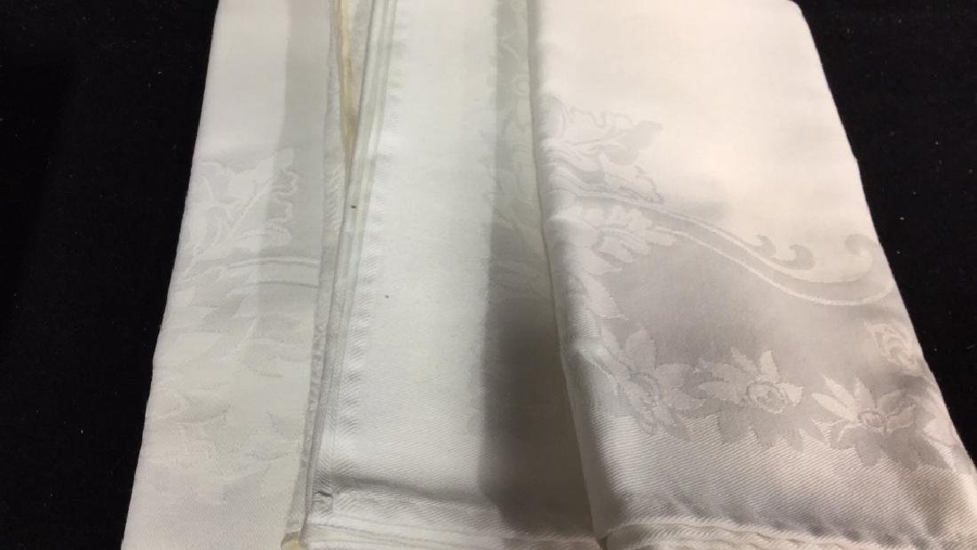 Group Lot Of Tablecloths And Napkins - 8
