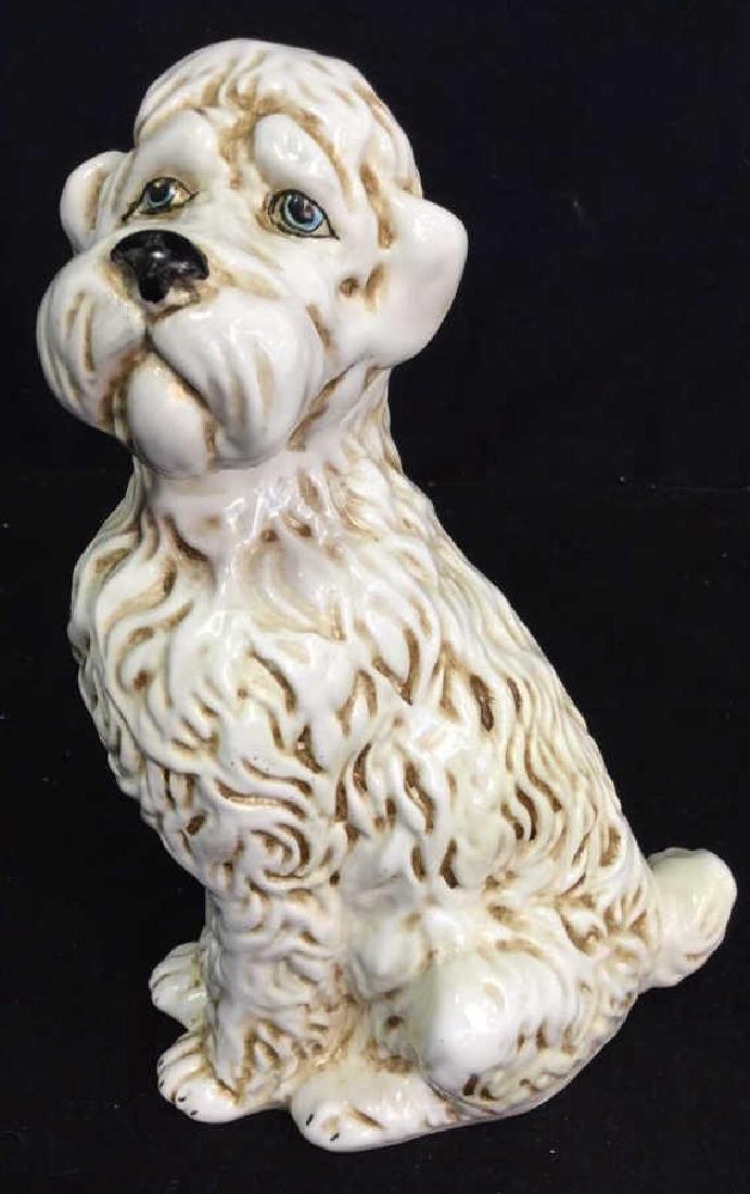 Ceramic Doodle Dog