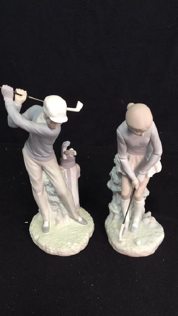 Lladro Golf Player Sculpture
