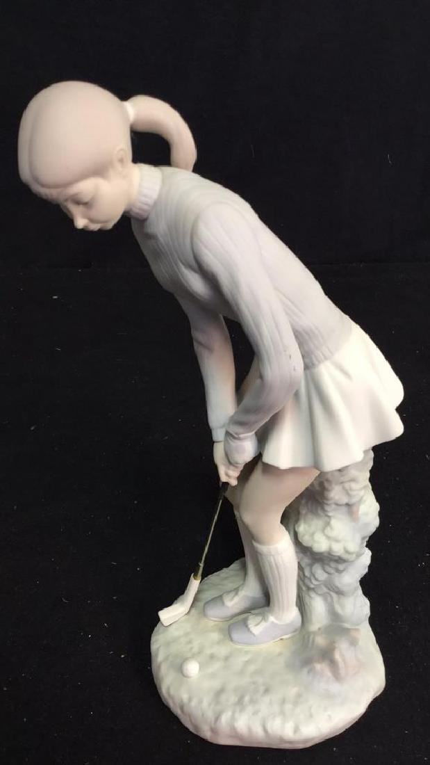 Lladro Golf Player Sculpture - 6