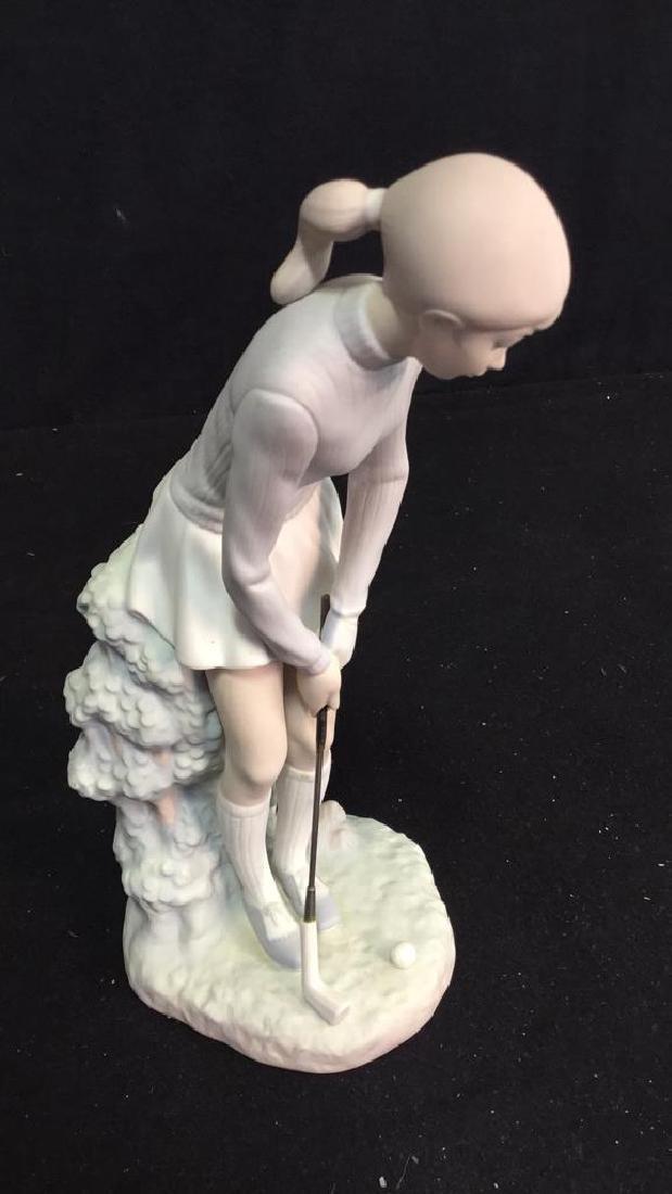 Lladro Golf Player Sculpture - 7