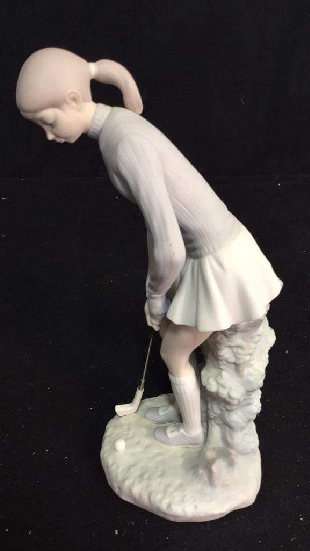 Lladro Golf Player Sculpture - 9