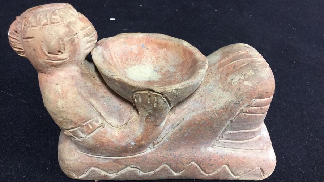 Assorted Handmade Pottery Figurines - 6