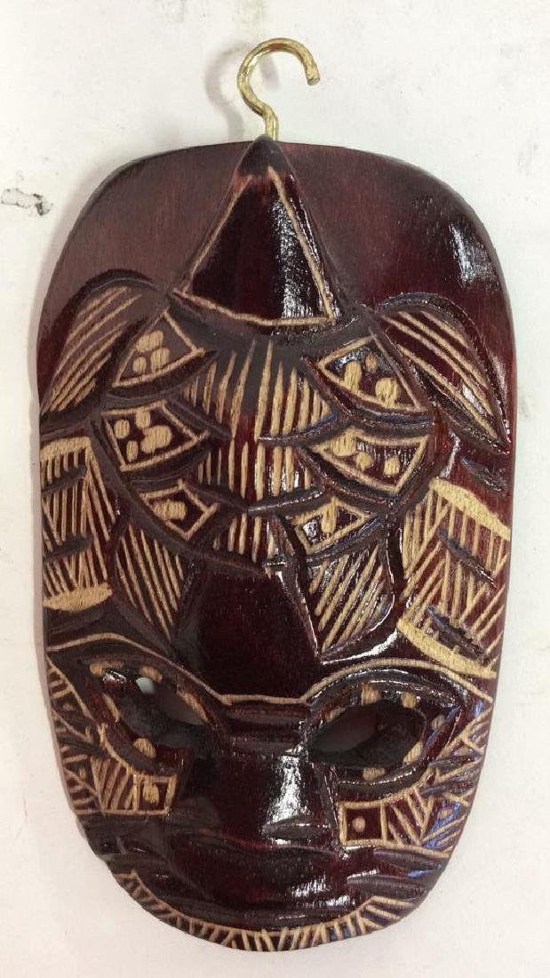 Group carved African Masks and Figures - 3