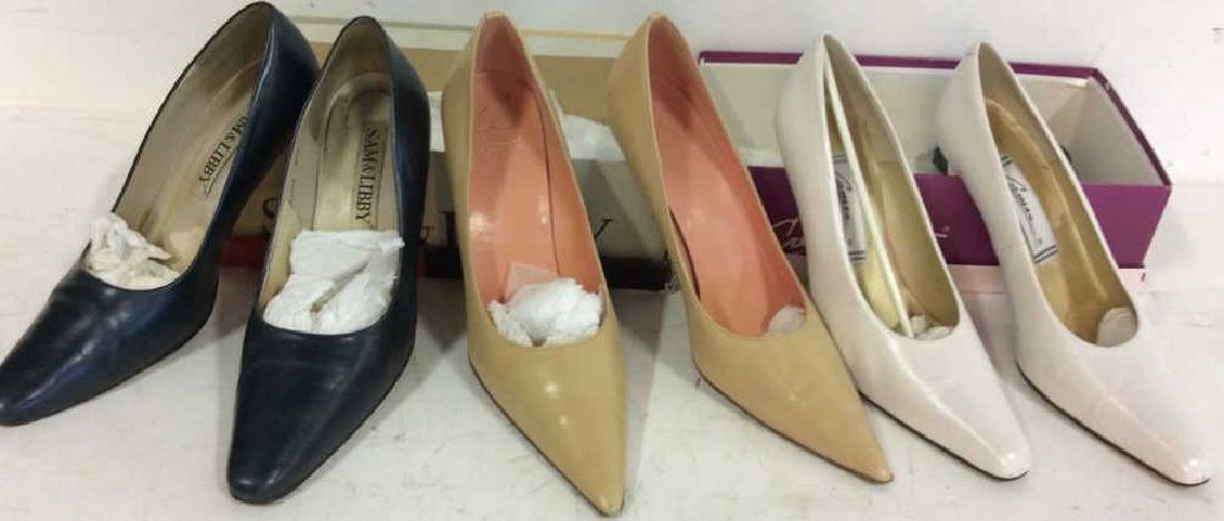 3 Pairs Ladies Shoes