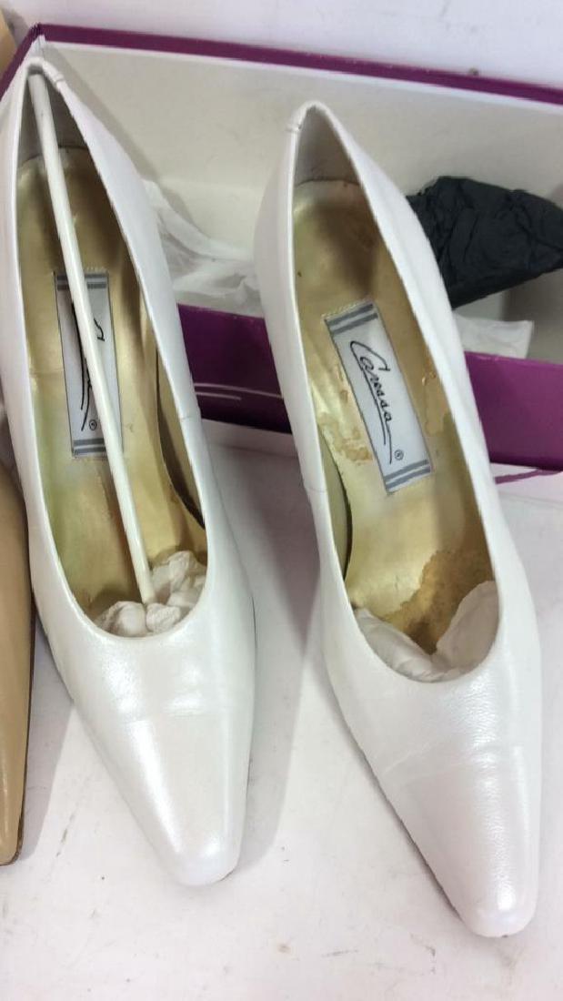 3 Pairs Ladies Shoes - 4