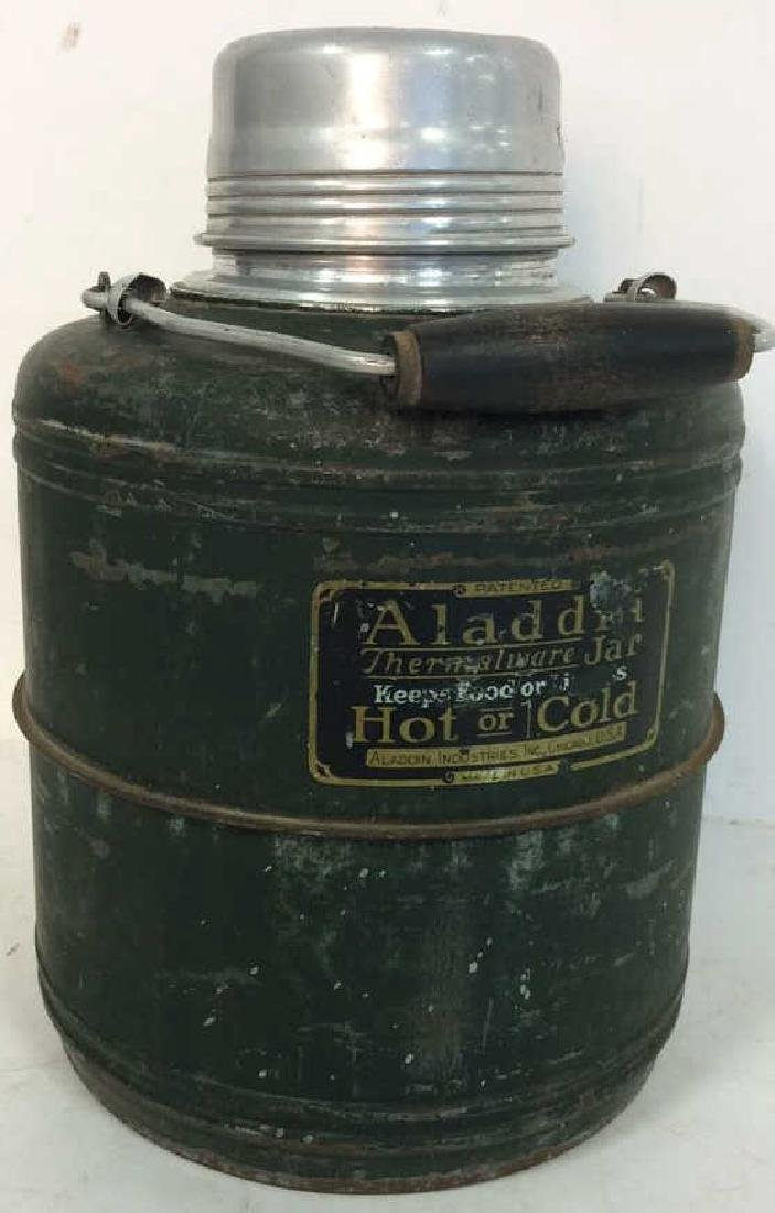 Circa 1950's Aladdin Thermalware Jar Jug