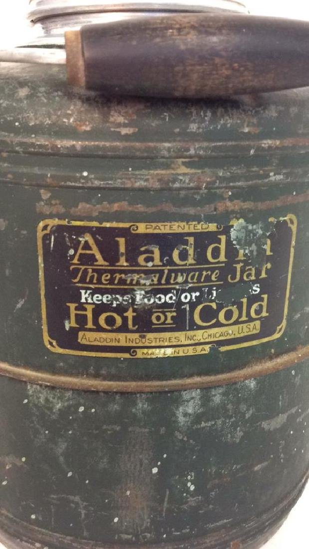 Circa 1950's Aladdin Thermalware Jar Jug - 2