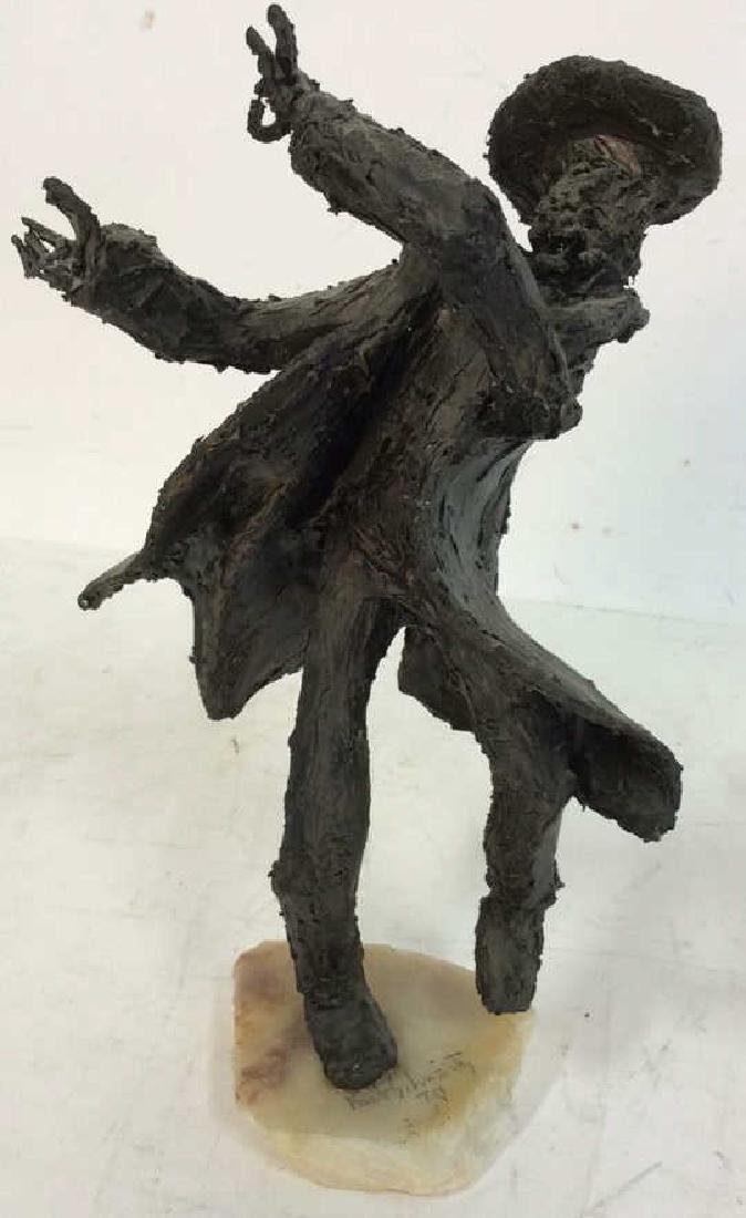 Bert Schwartz Dancing Rabbi Sculpture