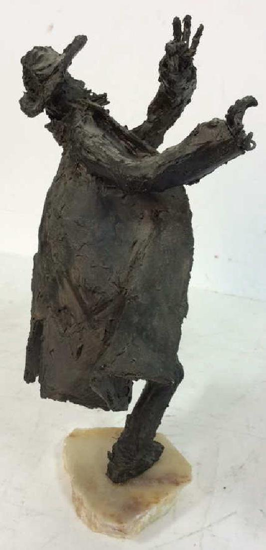 Bert Schwartz Dancing Rabbi Sculpture - 5