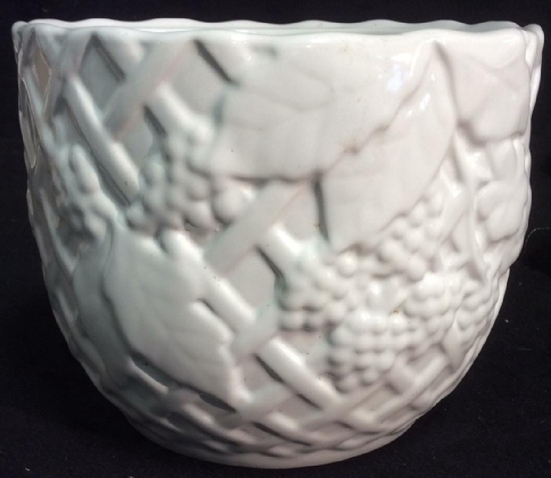 Group Lot 4 Ceramic Planters Pots Pitcher - 3