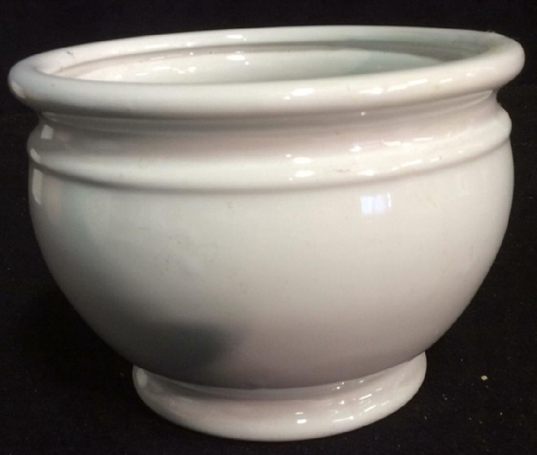 Group Lot 4 Ceramic Planters Pots Pitcher - 5