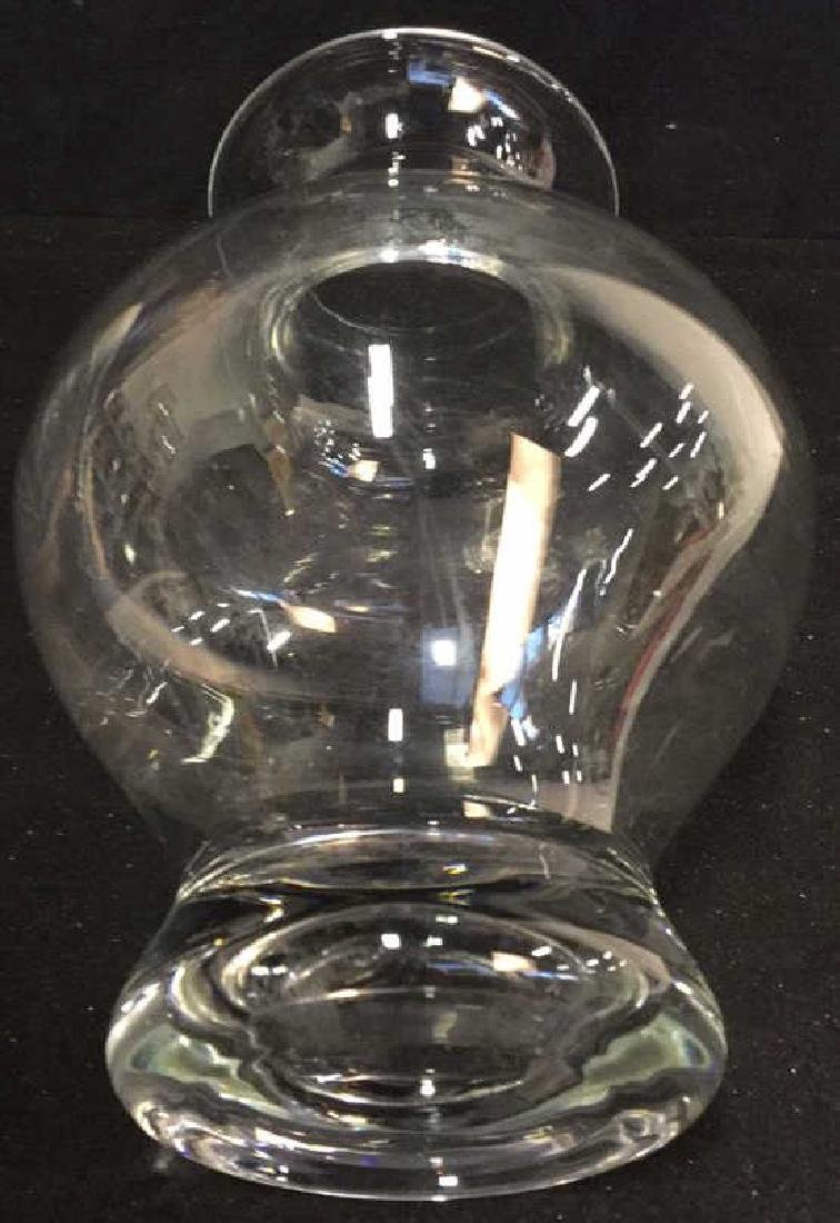 Glass Vase And Ball Candle Holder - 3