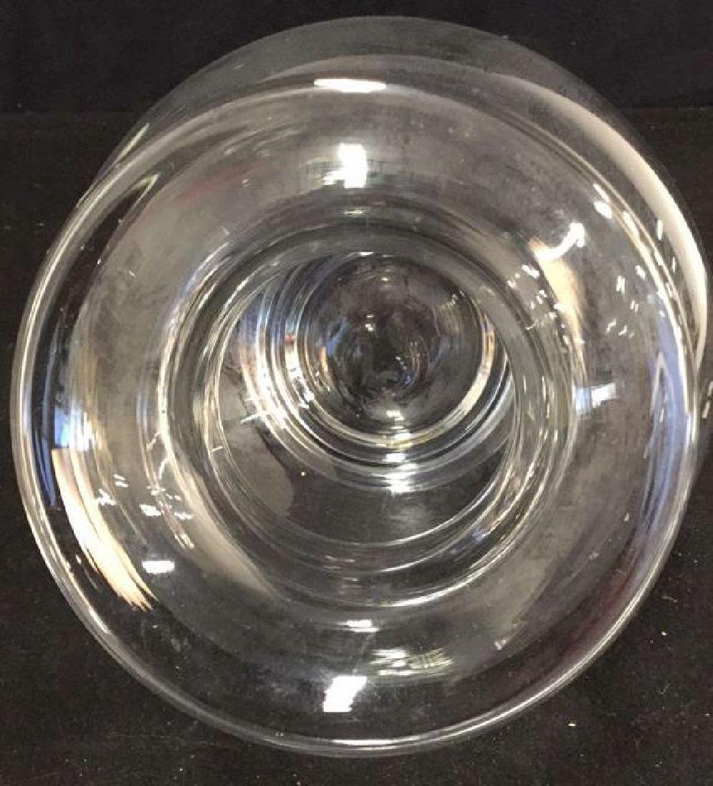 Glass Vase And Ball Candle Holder - 4